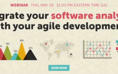 On-Demand Webinar: Integrate your Software Analytics with your Agile Development