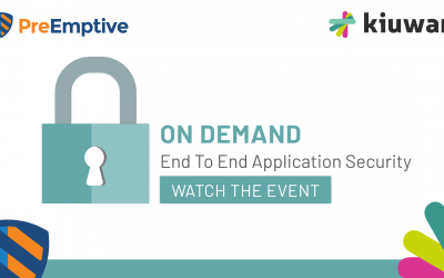 On Demand Webinar: End To End Application Security